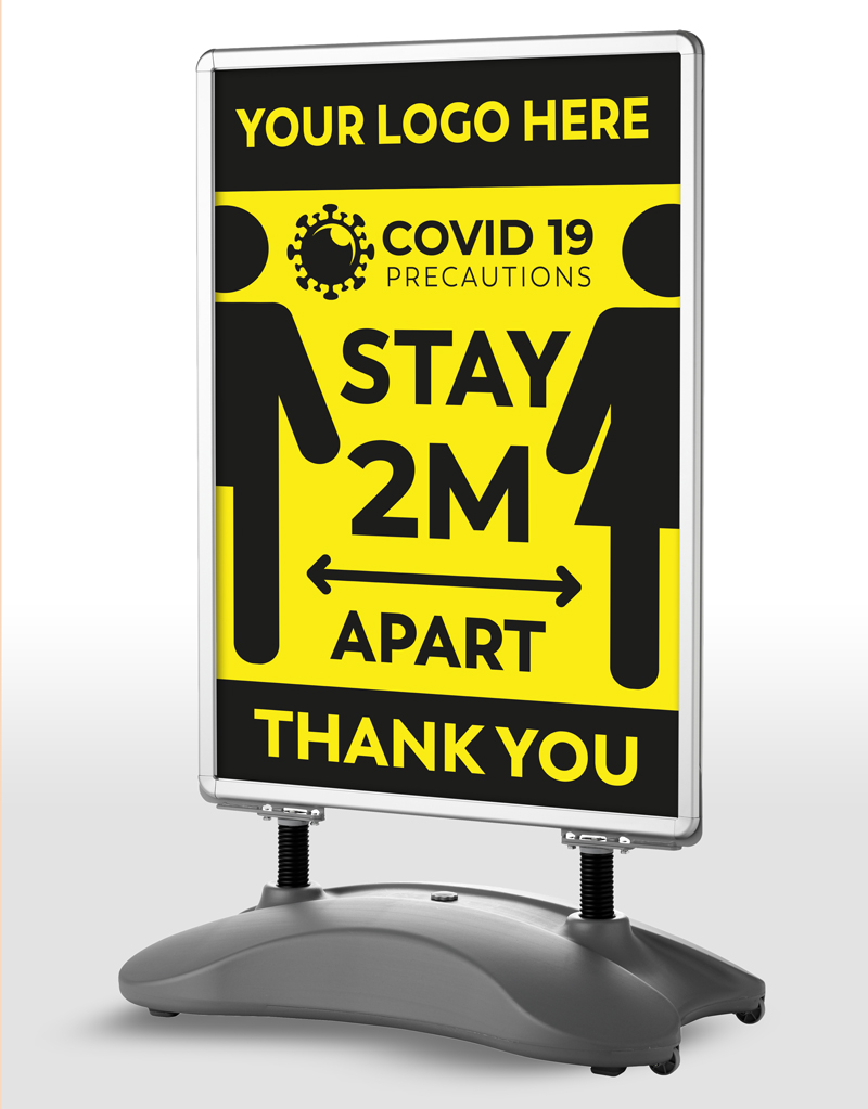 STAND SIGNAGE